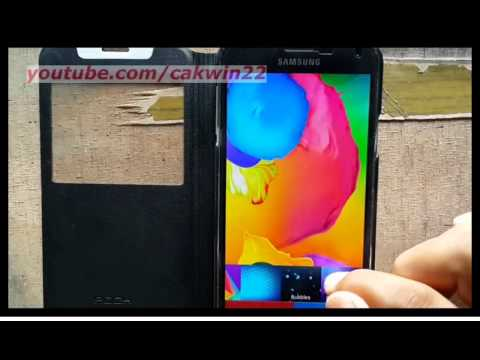 Samsung Galaxy S5 : How to change home and lock screen wallpaper (Android Phone)