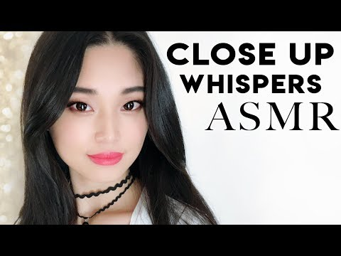 [ASMR] Curing Tingle Immunity - Close Up Whispers and Gentle Sounds