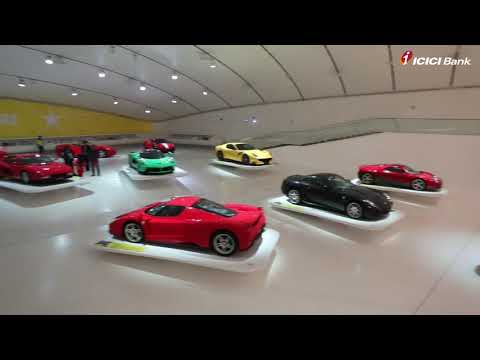 Explore the Ferrari Museum with the winners of ICICI Bank Ferrari Credit Card Top Spender contest