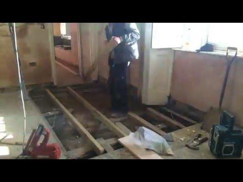 Replacing old floor joist part 1!