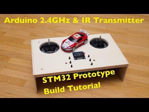 STM32 Arduino 2.4GHz & IR Test Transmitter Build Tutorial