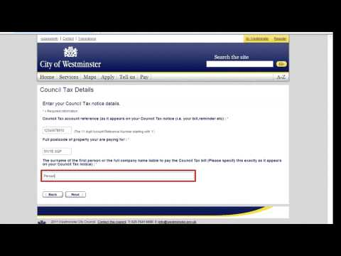 How to pay your council tax online