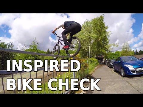Ali Clarkson Vlog 5 - Inspired Bike Check