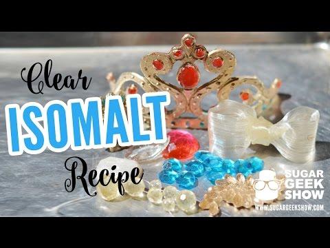 Clear Isomalt Recipe