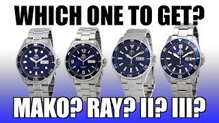 Which Orient Diver Should You Get? Ray vs Mako, II vs III - Find Out Here! - Perth WAtch #286