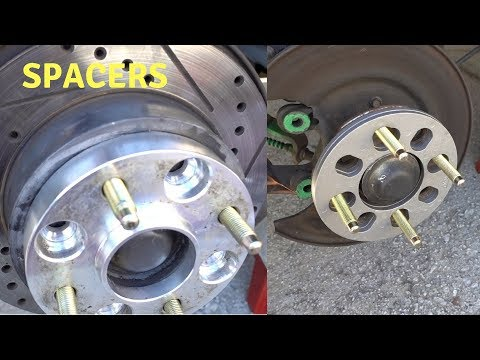 How To Go from Adapter to Spacer Whit Extended Studs