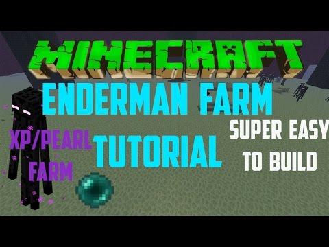 Minecraft TU57+ Safe Enderman Farm Tutorial Cheap Easy Xbox Ps4 Wii U PE PC6