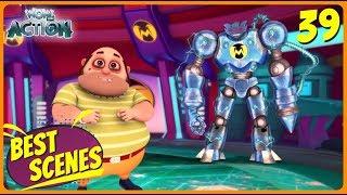 BEST SCENES of VIR THE ROBOT BOY | Animated Series For Kids | #39 | WowKidz Action