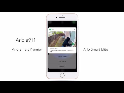 Respond to Emergencies Quickly with e911 | Arlo Smart