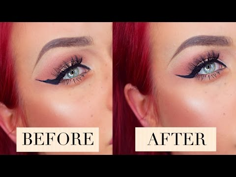 ❤ HOW TO:  Fix Liquid Eyeliner MISTAKES (QUICK & EASY) ❤