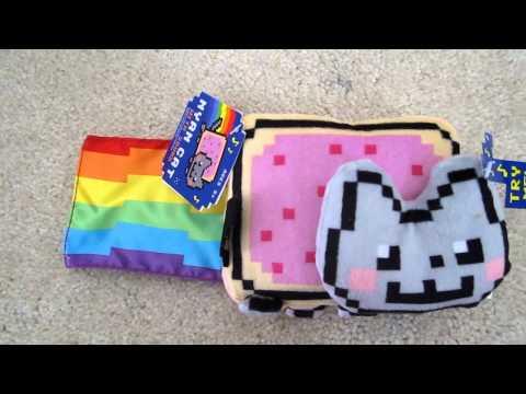 Nyan Cat Rainbow Poptart Kitty Musical Plush from ThinkGeek