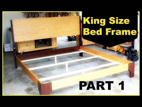 DIY: King Size Bed Frame - Part 1