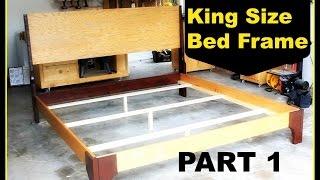 DIY: King Size Bed Frame   Part 1