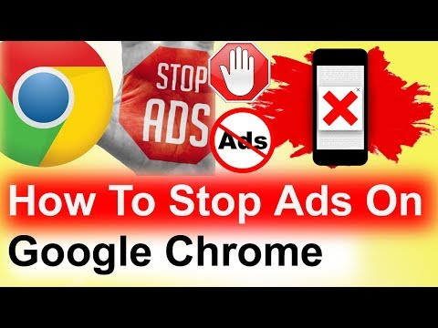 How To Stop Ads On Google Chrome Android/windows | Stop unwanted ads