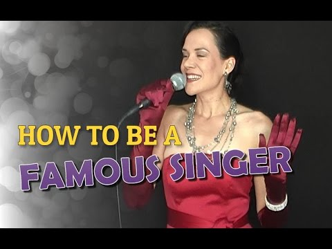 How To Be A Famous Singer - In 5 Steps!