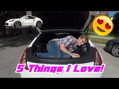 Five Things I Love About My 370Z