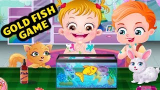 Baby Hazel Gold Fish Game | Fun Game Videos By Baby Hazel Games