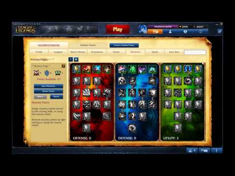 Maestrie League Of Legends Season 4