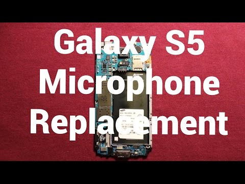Galaxy S5 Microphone Replacement How To Change