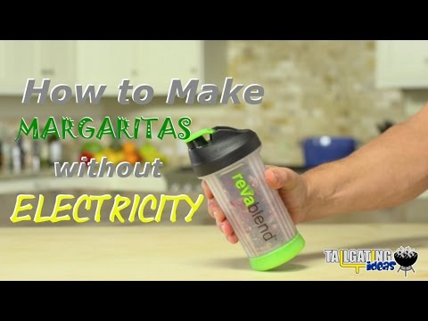 How to make margaritas without electricity