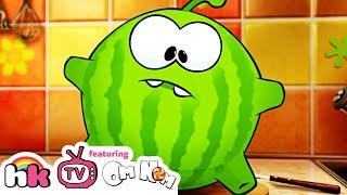Om Nom Stories: Watermelon-Stuck | Cut the Rope | Funny Cartoons for Kids | HooplaKidz TV
