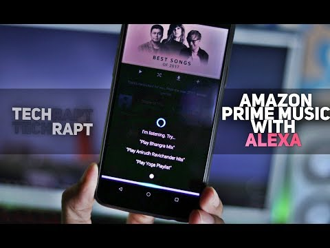 Amazon Prime Music (India Launch) with Alexa | Features + Review!
