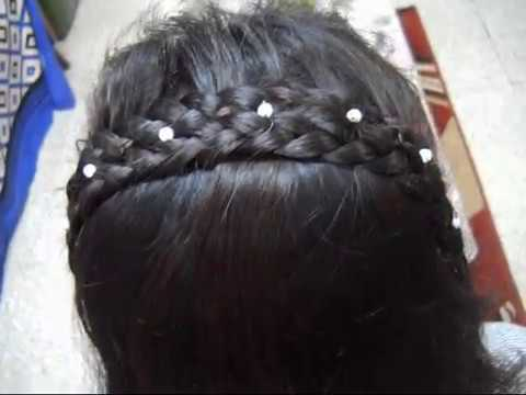 A Simple, Easy and Quick Braid hairstyle for School and College going girl's.