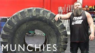 Strongman Robert Oberst's 20,000 Calorie Strongman Diet: FUEL