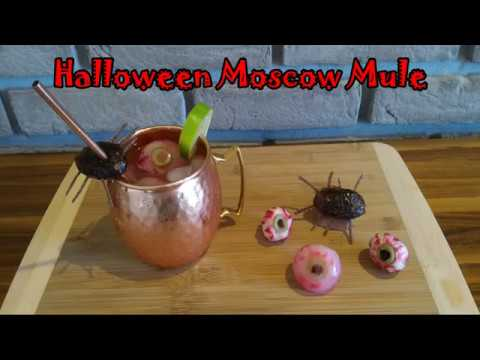 Halloween Moscow Mule Recipe | Special Cocktail for Halloween