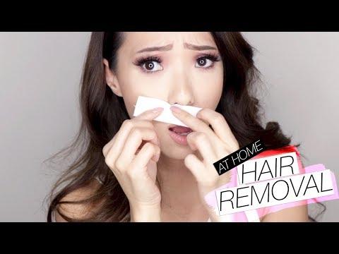 Easy At Home Facial Hair Removal!