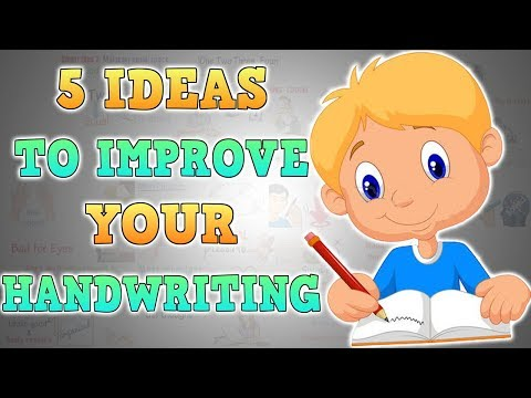 HOW TO IMPROVE YOUR HANDWRITING WITHOUT PRACTICING SEPARATELY