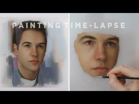 PORTRAIT PAINTING || Oil Painting Time-Lapse