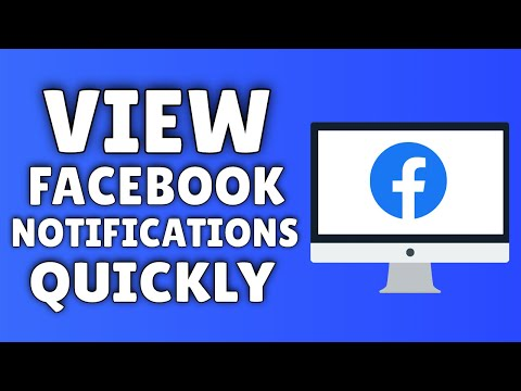 How To View Your Notifications On Facebook