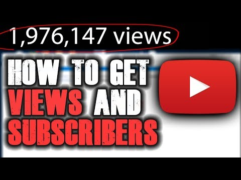 HOW TO GET VIEWS AND SUBSCRIBERS ON YOUTUBE FAST EASY FREE! | Flukester Tutorials