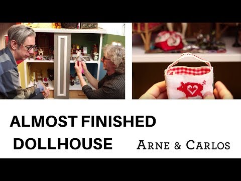 Update from an almost finished dollhouse by ARNE & CARLOS.
