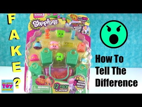 Fake Shopkins ? How To Tell The Difference & Not Get Bootleg Ones | PSToyReviews