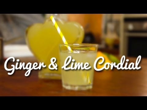 Ginger & Lime Cordial and a Zesty Question - Crumbs