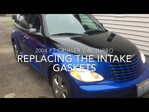 How to replace Intake Manifold gaskets on 2.4L PT Cruiser