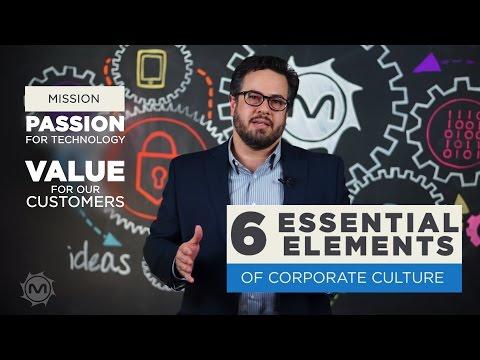 6 Essential Elements of Corporate Culture -- #MetroStarMinute, ep. 7