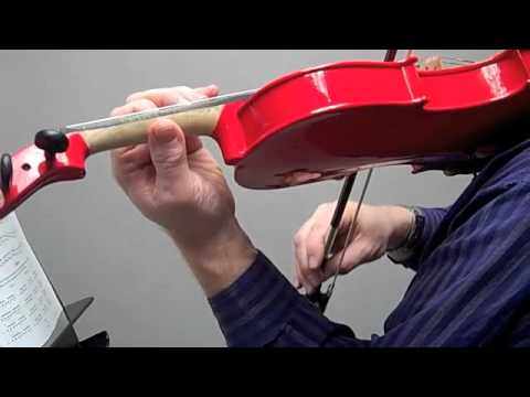 C Major Scale two octaves for violin
