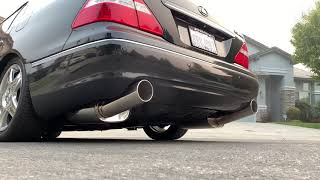 Motordyne Exhaust With Resonated Test Pipes Infiniti Q50,DGXJV