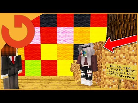 KID PAYS $34,000 FOR DIRT IN MINECRAFT TROLL!