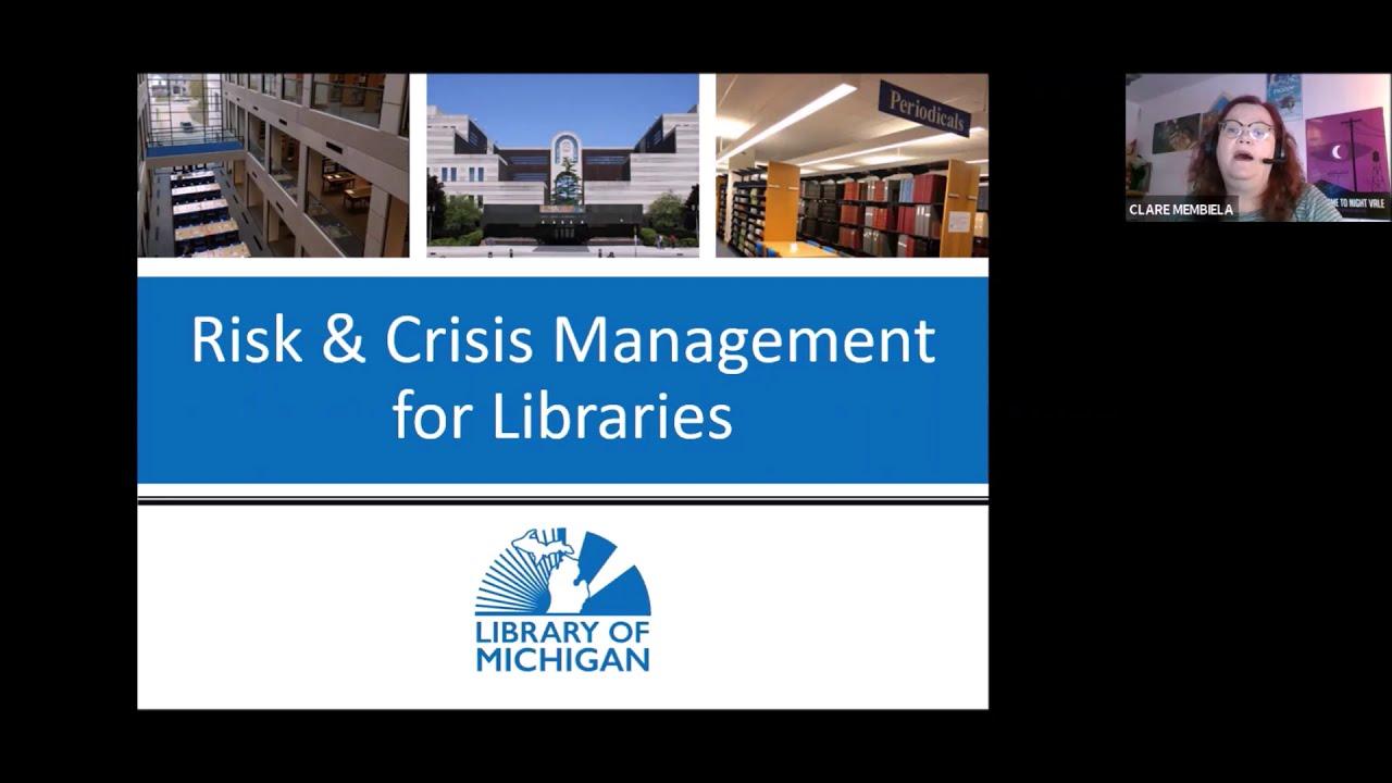 Library Law Spotlight February 2021: Risk Management