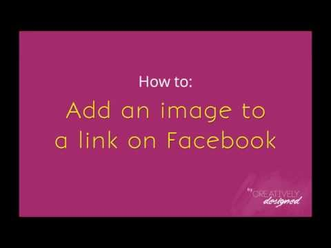 How to Add/Change a Link's Feature Image on Facebook