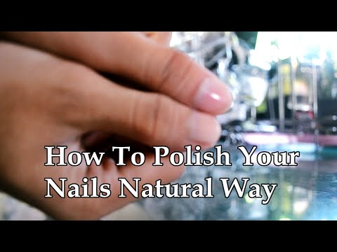 How To Get Shiny Nails Natural Way