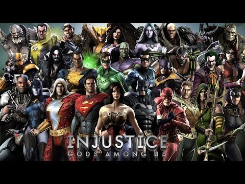 Injustice gods among Us walkthrough part 1