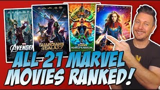 Download All 21 MCU Movies Ranked Worst to Best (w/ Captain Marvel Review) Video