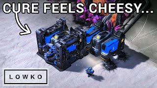 StarCraft 2: Cure PROXY RAXES Dark... Twice!
