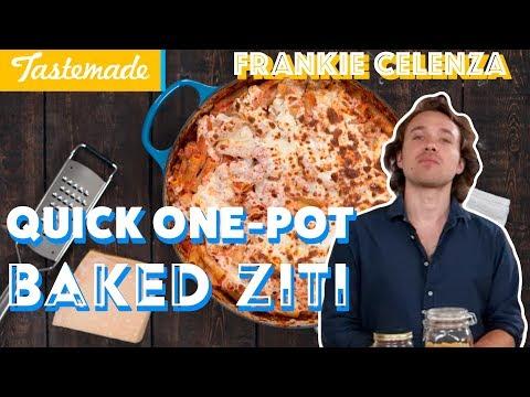 Fastest Ever One-Pot Baked Ziti | Frankie Celenza