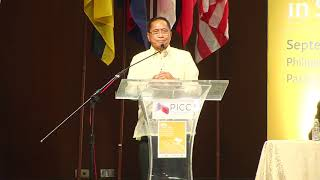 Jesus Dureza speaks at ASEAN conference on peace and violent extremism